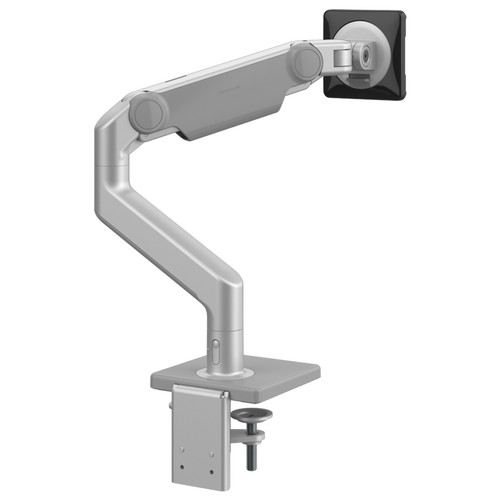 M8.1 Monitor Arm, silver with grey trim