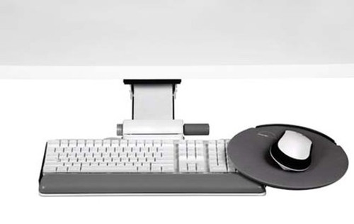 Humanscale 6G System with White 900 Board and High Clip Mouse