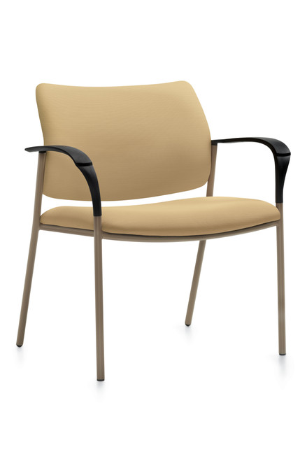 GlobalCare Sidero Stacking Bariatric Lounge with Mocha frame