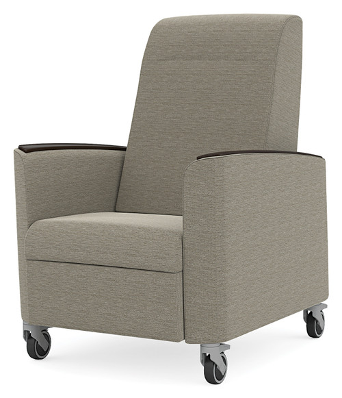 Verity Patient Recliner with optional arm caps