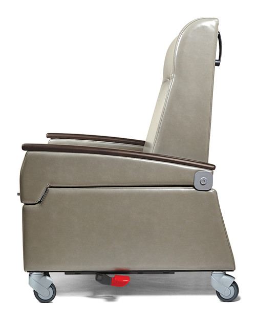 Oasis Treatment Recliner, shown with swing arm