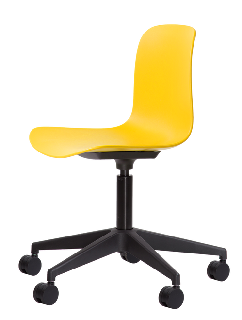 Flux Task Chair Signal Yellow