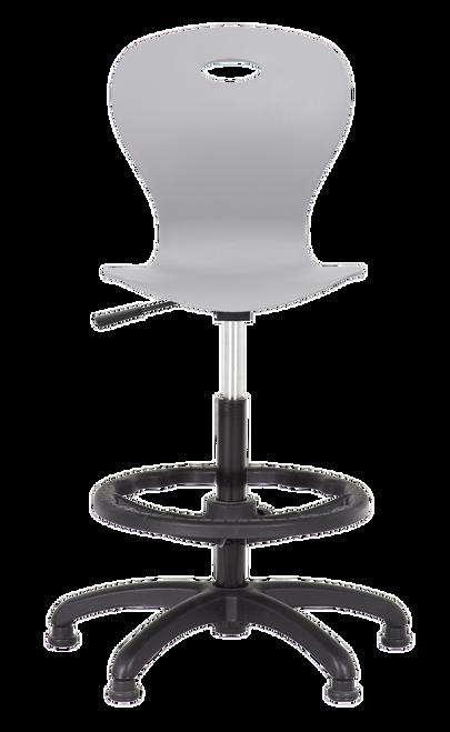 Lotus Task Stool Signal Grey