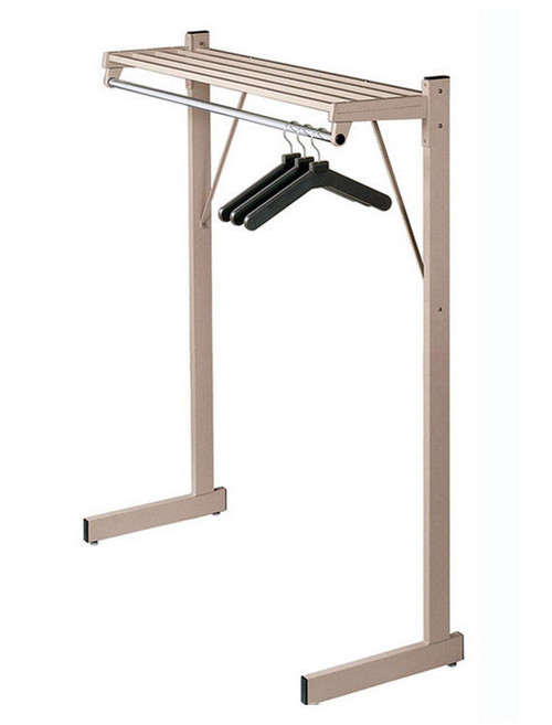 DS Series Single Sided Floor Rack in Sandstone
