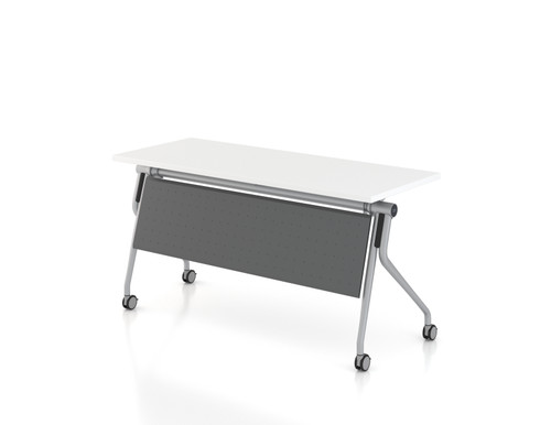 AMQ Concur Training Table with optional modesty panel