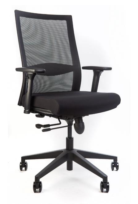 Complete w/ seat slider & synchro-tilt recline