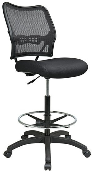 Deluxe AirGrid® Back Stool with Mesh Seat