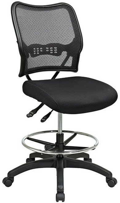 Deluxe AirGrid® Back Stool with Dual-Function Control