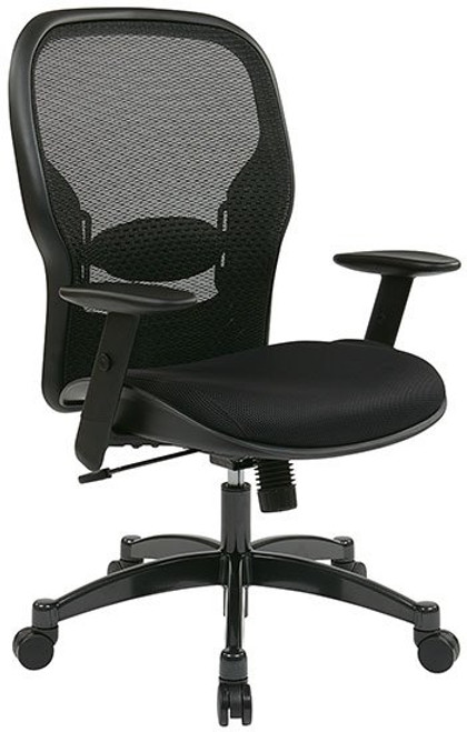 Mesh Back Managers Chair with Adjustable Lumbar