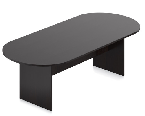 Offices To Go 8' Racetrack Conference Table in American Espresso AEL