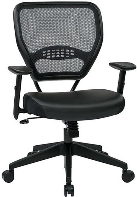 Black Eco Leather Seat