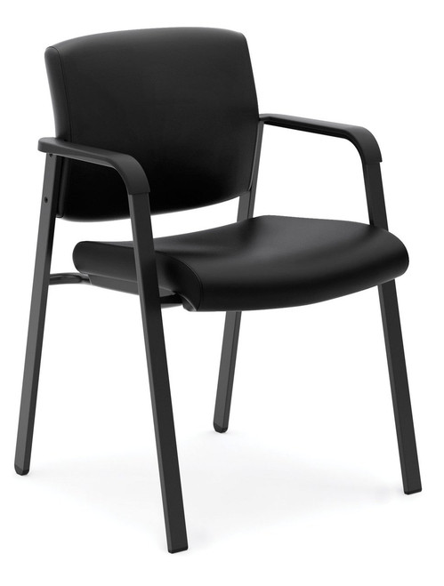 Hon Leather Stacking Guest Chair (HVL605)