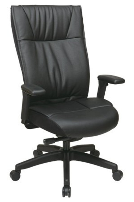 Contemporary Executive Leather High Back Chair