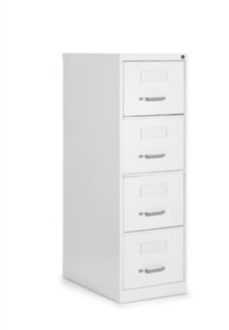 2500 Series 4 Drawer Legal File, Designer White