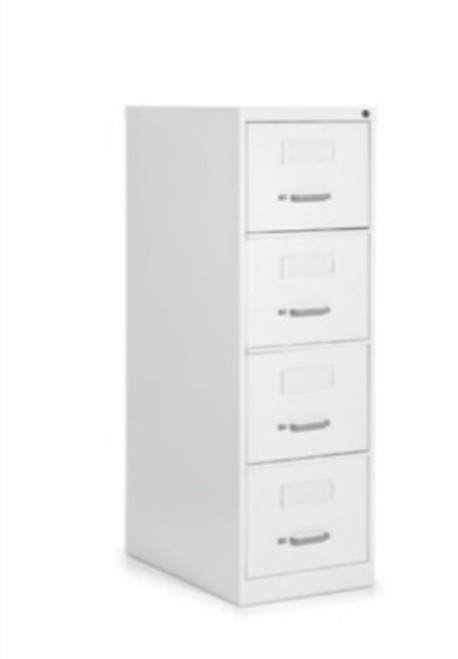 2500 Series 4 Drawer Legal File, Designer White