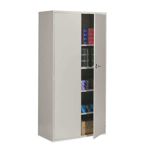 Shown in Light Grey LGR w/ Optional 4th shelf