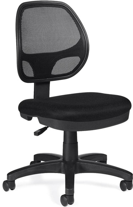 Offices To Go Mesh Back Task Chair with Optional Arms