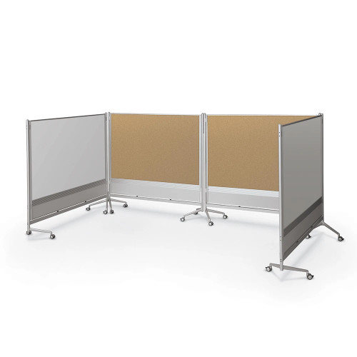 D.O.C. Room Partition and Display Panels can contain any space