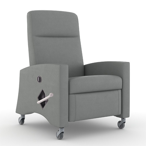 Greer Medical Recliner in Silvertex Healthcare Vinyl