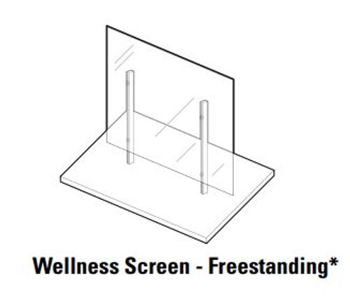 Global Wellness Screen, Freestanding
