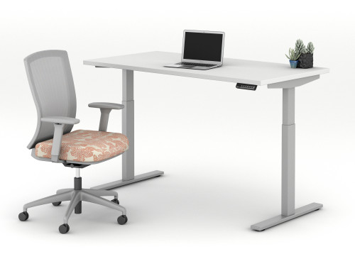 AIS E Series Height Adjustable Table with Natick Tasker