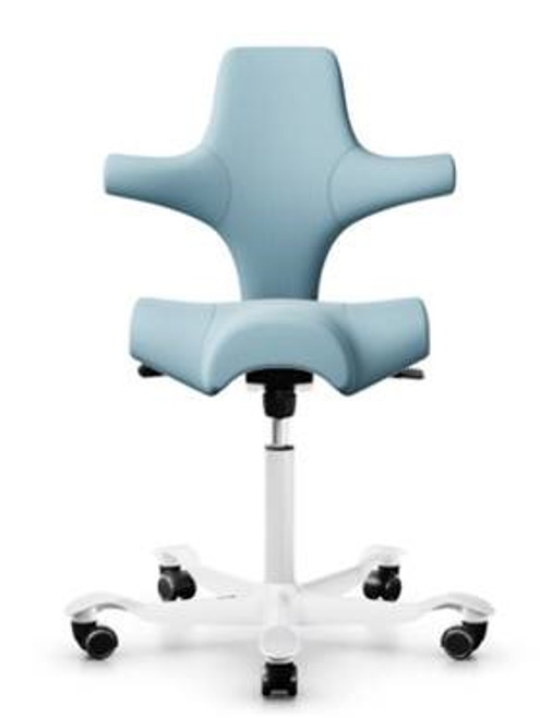 HAG Capisco H8106 Saddle Seat with White Base Quickship