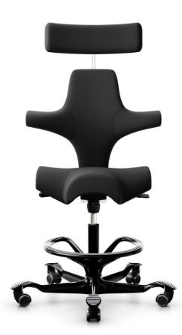 HAG Capisco Open Box Saddle Seat w/ Headrest H8107