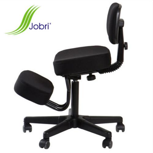 Jobri Solace Plus Memory Foam Kneeling Chair Shown w/ optional back