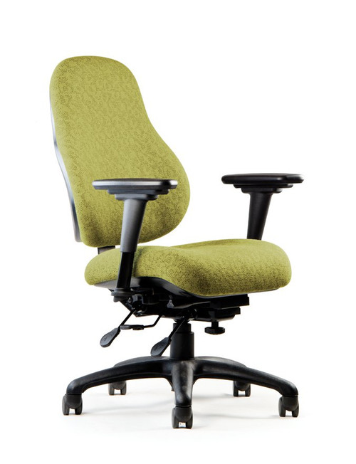 Neutral Posture E-Series Ergonomic High Back Executive Task in Fennel Fabric