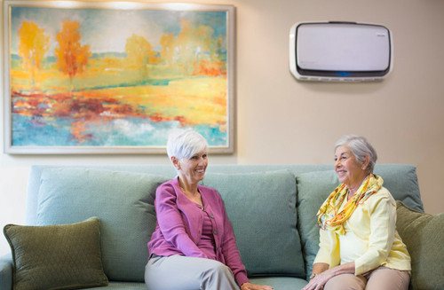 AeraMax Pro AM IV Air Purifier keeps the air clean in nursing homes