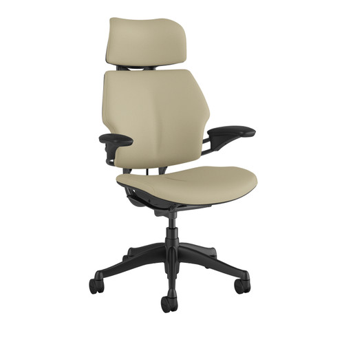 Freedom Executive HR Task Chair in Corvara Leather Sand