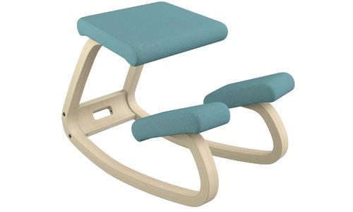 Open Box Varier balans Kneeling Chair Turquoise Natural