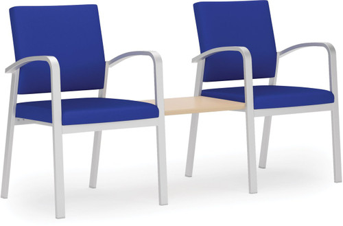 Newport Two Chairs with Connecting Center Table