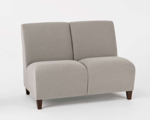 Siena Armless Two Seat Sofa
