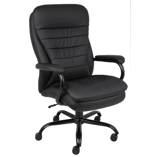 Big & Tall Pillow Top Executive Chair Black