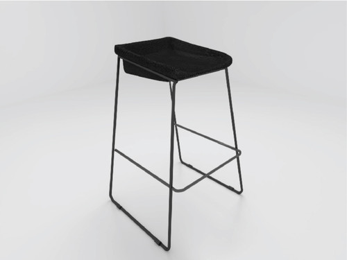 Compel Height Caffrey Stool Carbon
