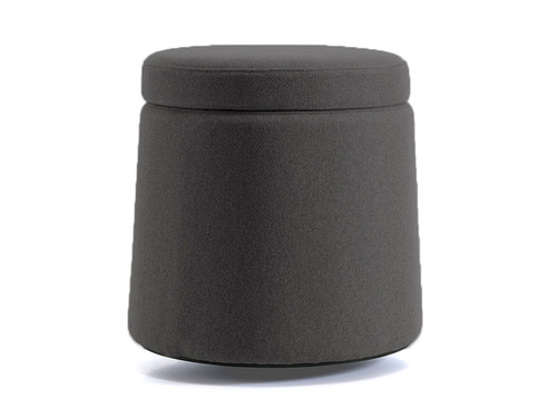 Compel Dot Stool with an active base in Coal