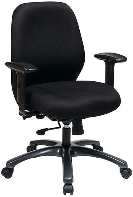 24/7 Ergonomic High Intensity Use Chair with Seat Slider