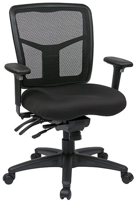ProGrid® Mesh Mid Back Mangers Chair with 3-Way Adjustable Arms