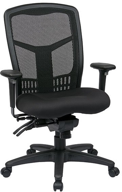 ProGrid® Mesh High Back Mangers Chair with 3-Way Adjustable Arms