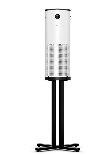 Special-T SAFE-T-X Air Purification System Air Filter, white with stationary stand