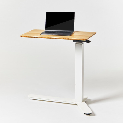 e-Float Mini Compact Bamboo Top Sit Stand Table