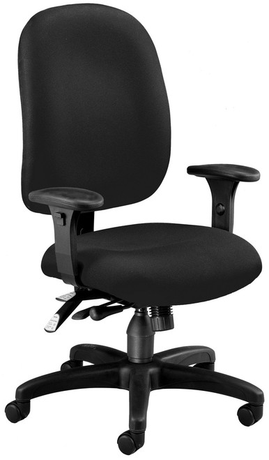 OFM ComfySeat Ergonomic Task in Black