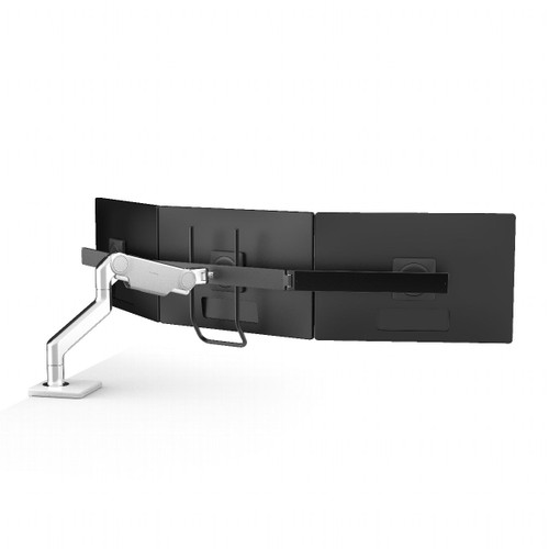 Humanscale M10 Monitor Arm, silver with grey trim