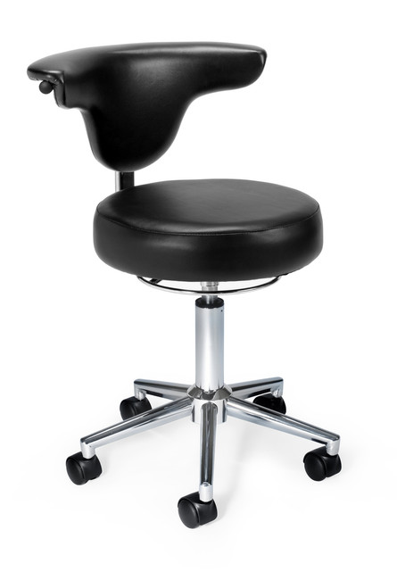 910 Series Anatomy Chair in Black