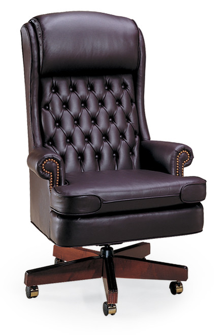 Bedford Traditional Tufted Back Swivel