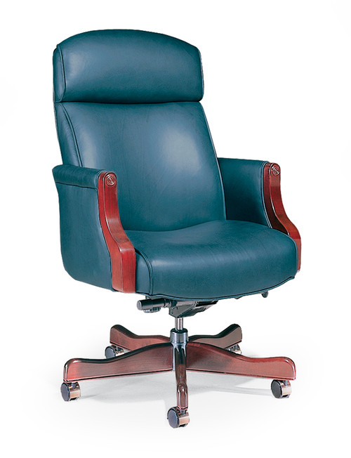 Austin Traditional XL Swivel w/ Light Cherry Frame and Base