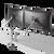 Dual EVO II Mount Articulating Monitor Arm