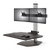 Silver dual monitor
