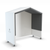 Nook Open Pod with full laminate back wall